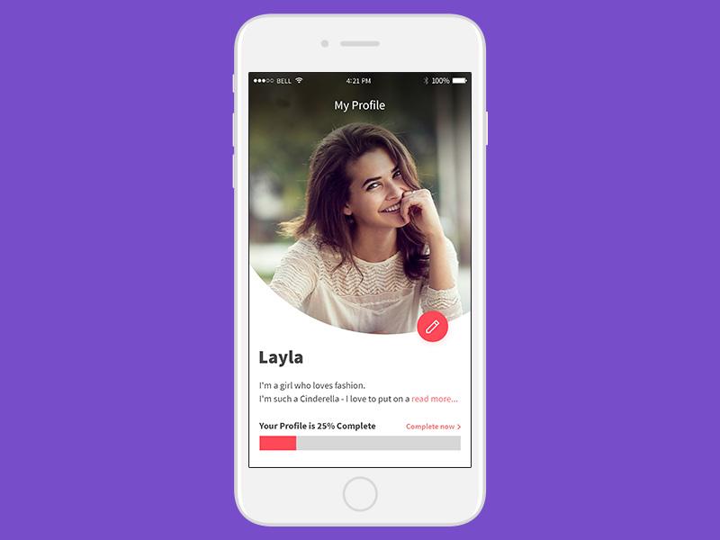 Daily Ui  #006   User Profile mocup profile user app ios ui