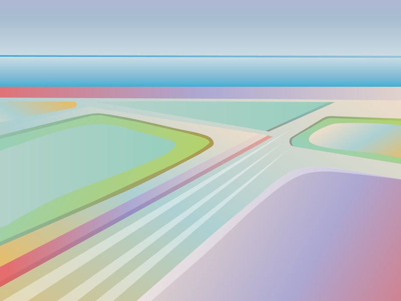 The Salt of the Earth nature salt 2d sea vector illustration adobe illustrator