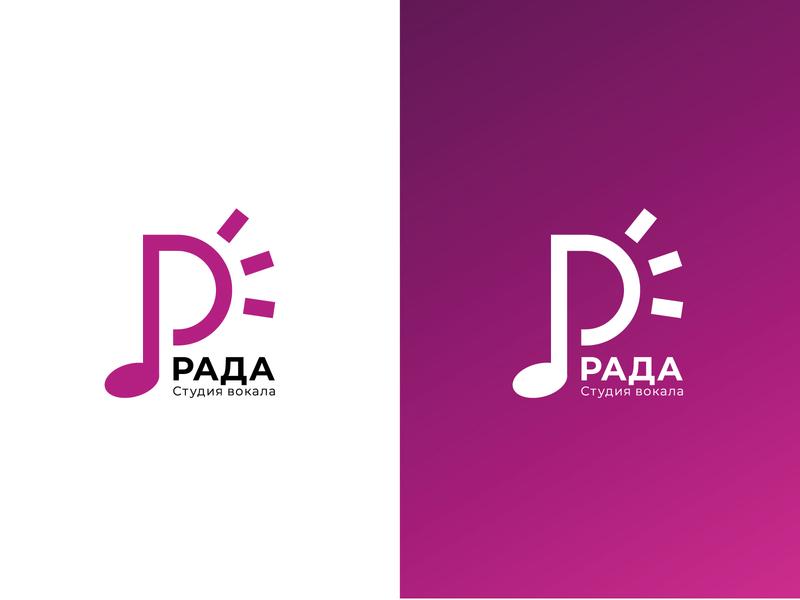 Logotype for vocal studio vocal 2d logotype vector adobe illustrator