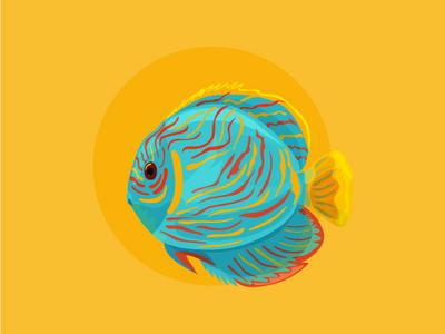 Sea stickers 2 sea telegram vector stickers adobe illustrator