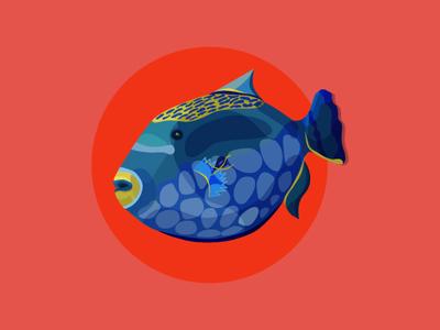 Sea stickers 5 design telegram illustration vector adobe illustrator