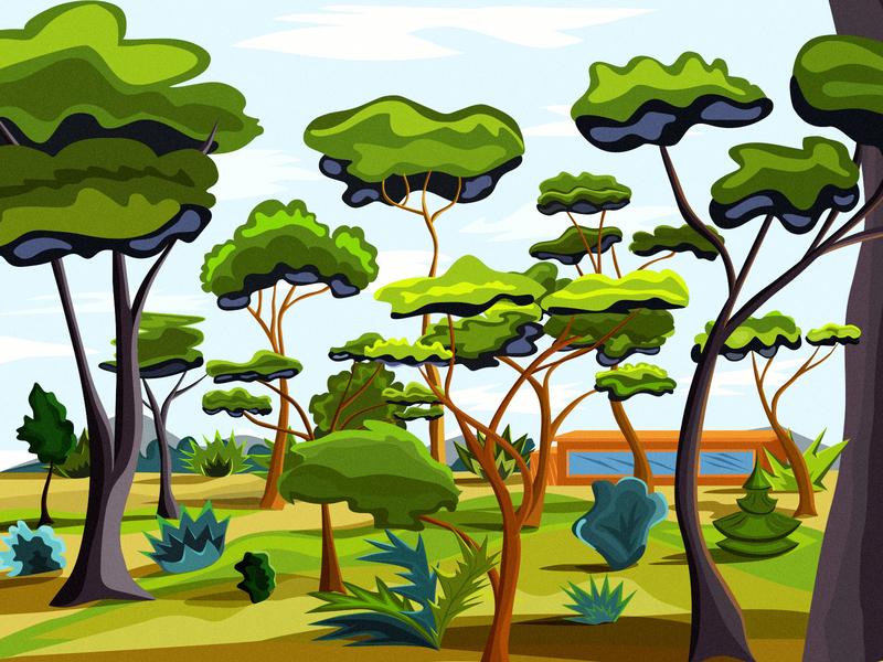 Wood italy vector 2d illustration wood adobe illustrator