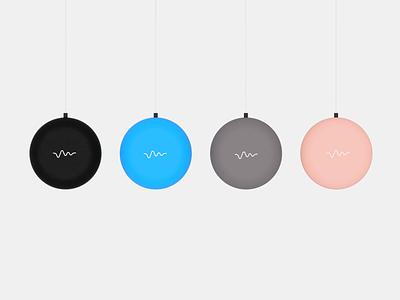 Google Home Mini Concept Colour Variants render fusion360 industrial design google home 2d