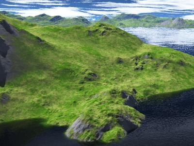 3D Terrain Environment