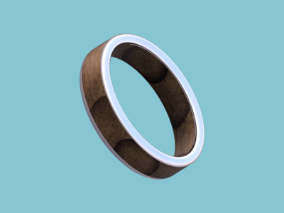Silver Ring Rendered