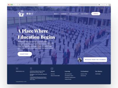 ALMSET Charity School Website