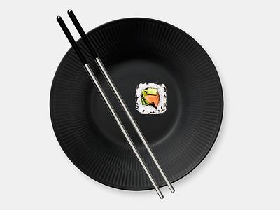 Reusable Chopsticks 1.1 industrial fusion360 food chopstick black 3d