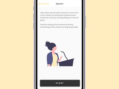 Staam App [WIP] application mobile wellbeing speech health app