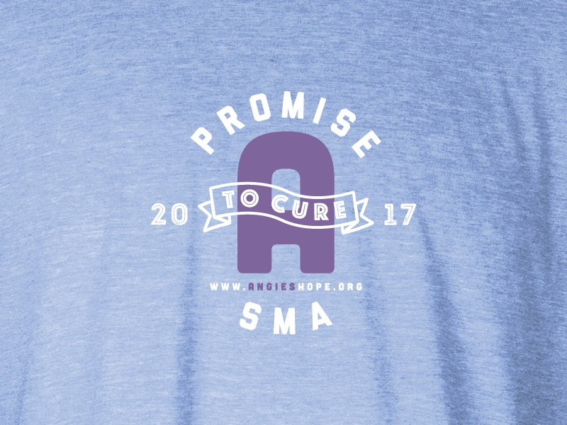 Promise   logo typography shirt apparel