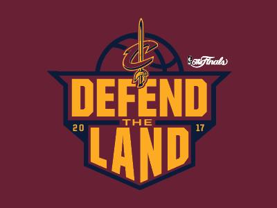 Defend the Land basketball cavs cleveland