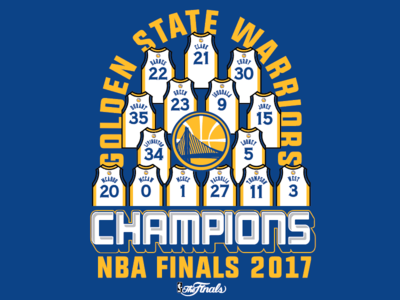 Golden State Finals Champs
