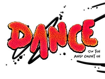 "Playlist ""album cover""; Dance! hand drawn drawn spotify music album art cover art"