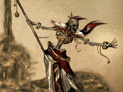 Lich game dark evil skeleton undead lich