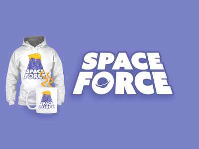 SPACE FORCE t shirt space force print shirt t-shirt politics darth vader force space trump