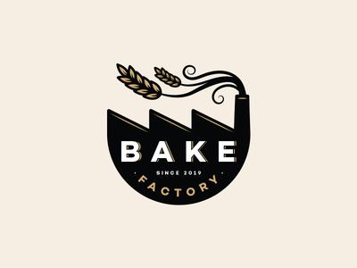 Bake Factory - Logo Concept For Sale