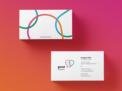 GoodNetwork Foundation colorful branding card business