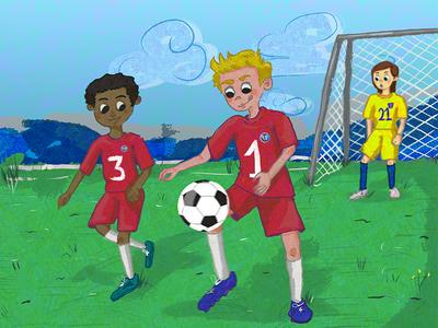 I've got Soccer Legs