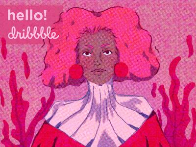 Hello Dribble character