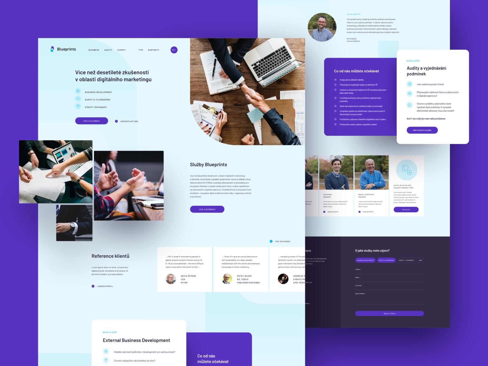 20 vis social blueprints v01 dribbble webdesign 150dpi a