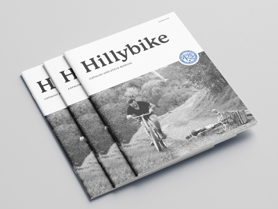 RBW Hillybike Catalog Cover bikes bicycle editorial catalogue catalog design