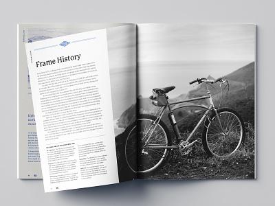 RBW Hillybike Catalog Spread california bicycle editorial bikes catalogue catalog design