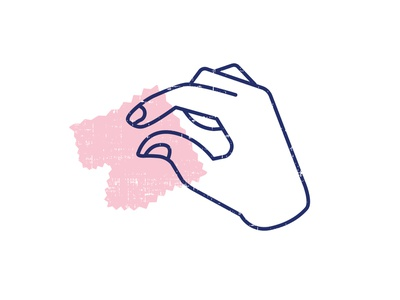 Twiddle & Thread Mark illustration branding brand logo