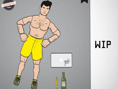 CREATION MAN vector illustrator