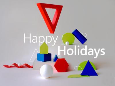 Happy Holidays! by Microsoft Visio