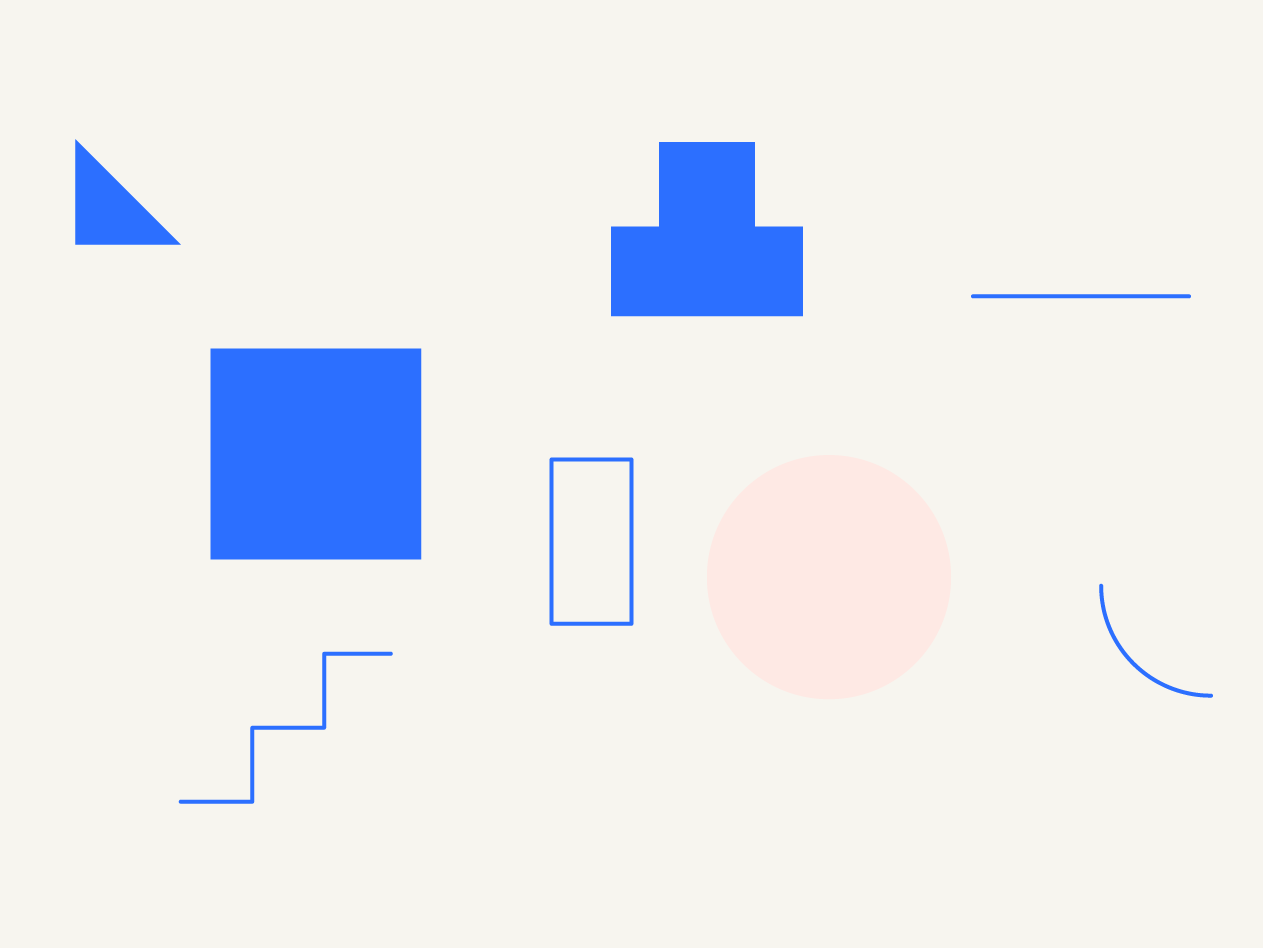 geometric shapes curves minimal simple vector geometric illustration lines circle square geometric abstract shapes