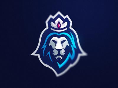 Lion mascot sports mascot logo gaming esports lion