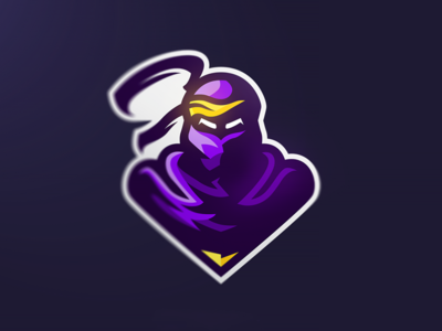Ninja Mascot sports mascot logo gaming esports ninja