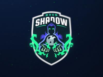 OverShadow sports logo phantom gaming esports