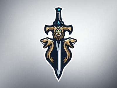 Sword mascot