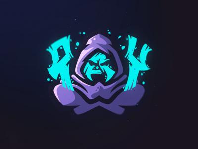 Ray Mascot sports logo mascot logo hoodie gaming esports design branding
