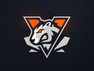Virtus.pro illustration polar polarbear virtuspro vp mascot branding gaming sports esports logo