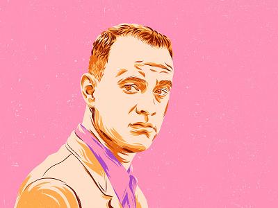 Forrest Gump - Tom Hanks poster movie portrait tom hanks forrest gump design art vector color illustration