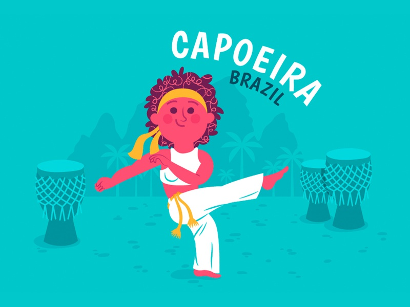 Capoeira Dance for Time Well Spent