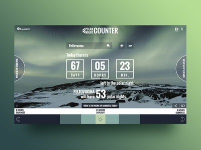 Polar Night Counter