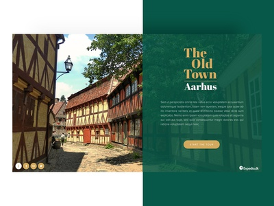 The Old Town - Landing Page