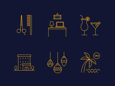 Work Perks Icons