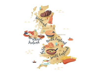 Uk Foodie Map