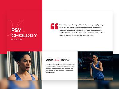 New Balance - The Variables of Victory ux typography marathon sport new balance responsive design web ui color