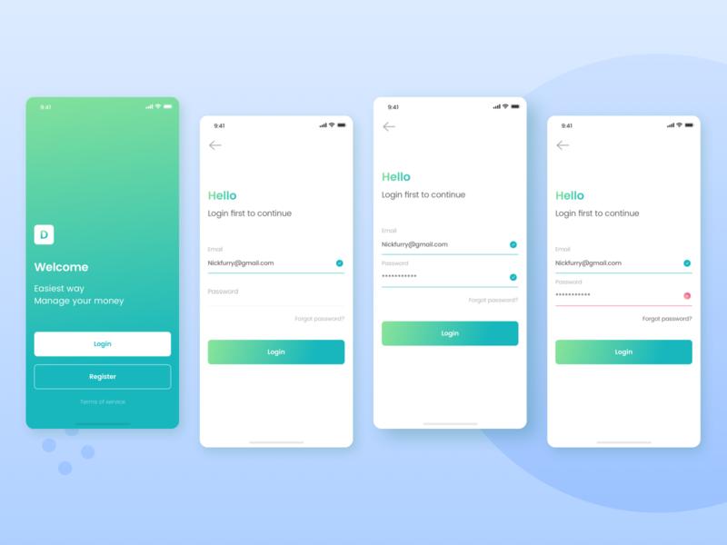 Login Flow | Kaya : Wallet Apps
