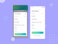 Payment Receipt | Kaya : Wallet Apps payment receipt receipt payment template builder kaya wallet apps wallet designspace iconspace project sebo saving money apps app concept interface ux design simple ui