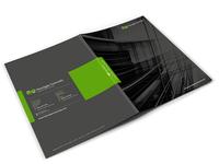 Business Folder Design