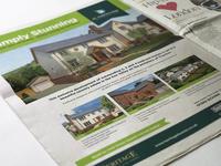 Real Estate Advert Design