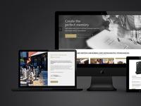 James Hilton Memorials Web Design