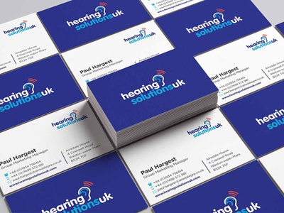 Company Business Card Design stationery business purple clean logo company card business card