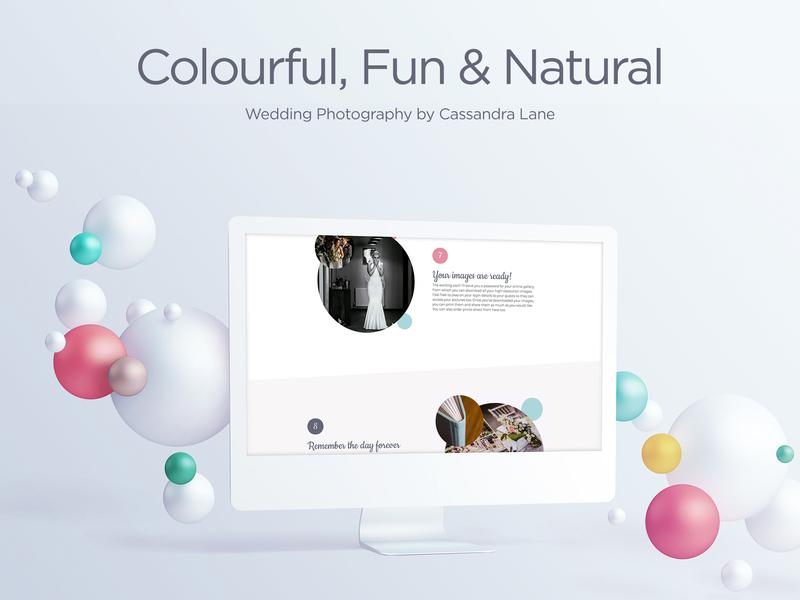 Coming Soon white design minimal clean photographers ui ux website photographer wedding