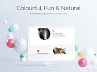Coming Soon white design minimal clean photographers ui ux website photographer wedding